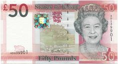 50 Pounds 2010 (Elizabeth II)