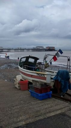 Old fishing boat, Cromer. Cromer, Fishing Boats, Norfolk, Weather, Weather Crafts