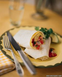 """See the """"Omelet Burrito with Jack Cheese and Tomato Salsa"""" in our  gallery"""