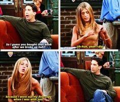 Rachel and Ross! FRIENDS TV