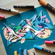 asno. infect. #projectburnerz #sketchbook #graffiti #illustration #stylewriting #molotowpremium #uniposca #abstract #urbanart #kunst #aqua