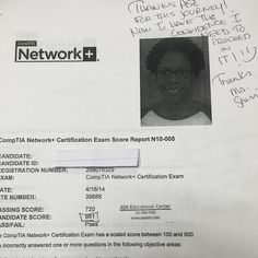 We are proud of our student who has passed CompTIA network exam.  CCNA ,CCNP certification ,microsoft ,security ,success Cisco