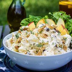 Yeşil Elmalı Patates Salatası