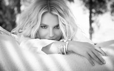 Download wallpapers Britney Spears, monochrome portrait, beautiful woman, American singer, 4k, photosession