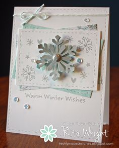 Rita's Creations: Freshly Made Sketches Winter