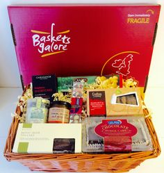 Father's Day Gift Basket Created By Our Customer Featuring Cake, Biscuits and Jam