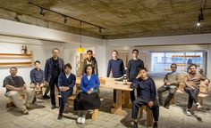 WALLPAPER: Ishinomaki Laboratory turns utility into fine art http://www.davincilifestyle.com/wallpaper-ishinomaki-laboratory-turns-utility-into-fine-art/     Keiji Ashizawa and Takahiro Chiba, the dynamic duo behind Ishinomaki Laboratory, like to describe their operation as the world's first DIY furniture company. Chiba, a former sushi chef, heads up operations in a large, former wakame-seaweed hangar in the small city of Ishinomaki in northern Japan. Ashizawa – the co-