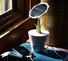 Solar Sunflower Charger | COOLSHITiBUY.COM