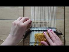Making a Woven Wall Hanging - Step 7: Roving - Weaving for Beginners Heroic acorn