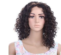 73.51$  Watch now - http://aliapr.worldwells.pw/go.php?t=32629804315 - Before the new special offer lace hand-made points in Europe and the United States small waves fashionable wig 73.51$
