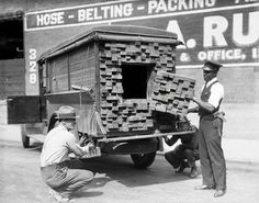 Clever place to hide booze during prohibition