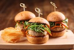 Three little pigs we'd really like to wolf down: Pork belly sliders from the W #Buckhead's new gastropub, Cook Hall, #Atlanta