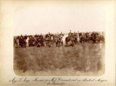 Țarul Alexandru cu regele Carol I și Statul Major la Grivița