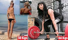 Bodybuilding Young Woman Beats Anorexia Through Exercise
