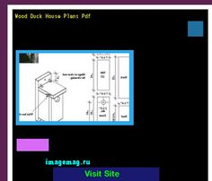 Wood Duck Houses Blueprints 201504 - The Best Image Search ...