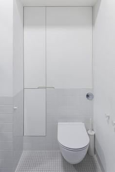 łazienka / bathroom our project #idea #elegant #allwhite #minimal #simple #inspiration #interiordesign #inspiracje #wnętrza Toilet, Minimal, Bathroom, Washroom, Flush Toilet, Full Bath, Toilets, Bath, Bathrooms