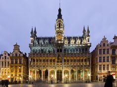 La Grand Place de #Bruselas es sin duda una de las plazas con más encanto de Europa
