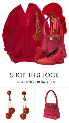 """""""Untitled #2069"""" by palemermaid ❤ liked on Polyvore featuring Karl Lagerfeld and adidas"""