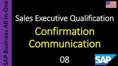 SAP - Course Free Online: 08 - Confirmation Communication
