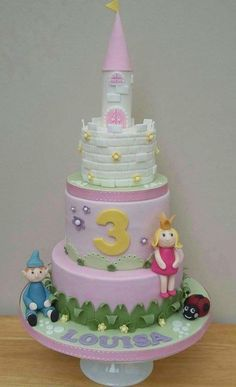 Ben and Holly's Little Kingdom - Cake by The Buttercream Pantry