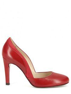 Mes peut être chaussures? Un beau rouge 8 cm de talon bonne stabilité cuir