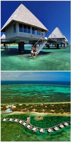 #LEscapade_Island_Resort - #Ilot_Maitre - #New_Caledonia http://en.directrooms.com/hotels/info/5-147-2615-39772/