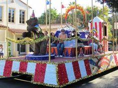The Circus Circus float celebrates.