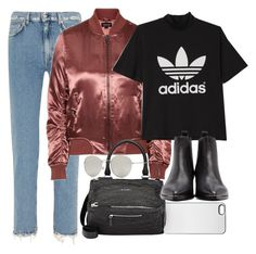 """""""Untitled #11220"""" by minimalmanhattan ❤ liked on Polyvore featuring Acne Studios, Zero Gravity, Topshop, adidas, Givenchy and Forever 21"""
