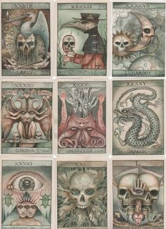 """withhecateandfalkor: """" The Lost Tarot, by Dominic Murphy """""""