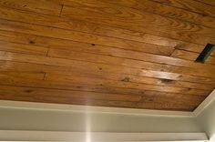 Ceiling for finished basement