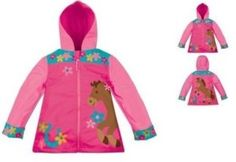Stephen Joseph Rain Coat, Girl Horse, The soft outer material and lightweight cotton lining makes these more than just a rain coat; they're perfect for all weather coordinate with matching Stephen joseph boots and umbrellas Girls Raincoat, Raincoat Outfit, Mens Raincoat, Yellow Raincoat, College Outfits, Kids Outfits, Kids Rain Boots, Raincoats For Women, Coat Patterns