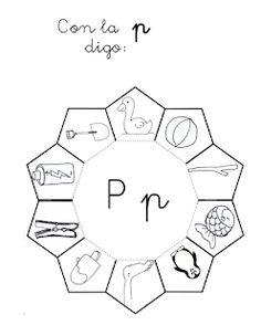 ¿Qué puedo hacer hoy?: Con la P digo: Pre K Activities, English Book, Homeschool, It Cast, Teaching, Writing, Education, Psp, Literacy Activities
