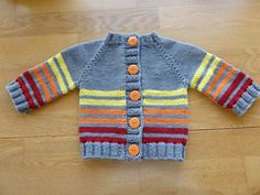 Ravelry: dcknitwit's 2 Little Coffee Bean Cardigan's for the Twins