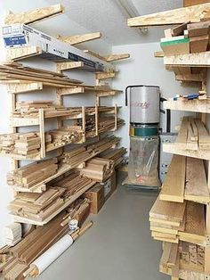 Wood Shop Organization | Readers Best Lumber Racks
