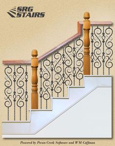 Check Out This Staircase Layout I Created Using StairArtist At SRG Stairs.