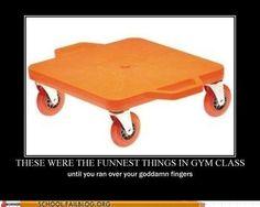 i remember those