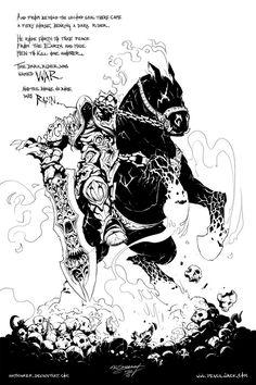 PUMMEL o7 - 'Darksiders' by Inkthinker