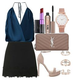 """""""Untitled#1437"""" by mihai-theodora ❤ liked on Polyvore featuring Topshop, Tome, ASOS, Benefit, Yves Saint Laurent, Urban Decay and Larsson & Jennings"""