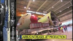VIDEO: Airbus Increases Jet Production - http://uptotheminutenews.net/2014/02/26/top-news-stories/video-airbus-increases-jet-production-2/
