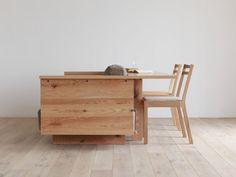 Space Saving Furniture Collection by Hirashima