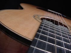Hand made classical guitar that I made in Canada under a master guitar builder in 2002