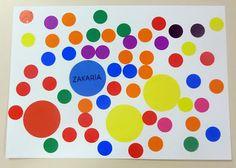 Yayoi Kusama en petite section Yayoi Kusama, Art Lessons For Kids, Art For Kids, Dot Day, Ecole Art, Art Graphique, Craft Activities For Kids, Art Plastique, Elementary Art