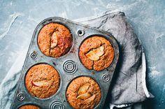 Green Kitchen Stories' Triple Apple Almond + Buckwheat Muffins
