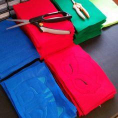 Just making PJ Hero masks...