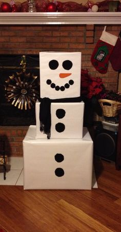 Easy Paper Snowman Ornaments Ideas For Kids Inspire 06 Snowman Party, Snowman Christmas Decorations, Diy Snowman, Snowflake Decorations, Snowman Ornaments, Christmas Crafts For Kids, Christmas Activities, Christmas Snowman, Ornaments Ideas