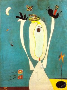julienfoulatier: Painting by Joan Miro. Max Ernst, Joan Miro Pinturas, Metamorphosis Art, Joan Miro Paintings, Art Brut, Kandinsky, Art Abstrait, Pablo Picasso, Famous Artists
