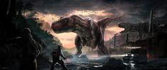 Jurassic Park - Rescue Mission by SocyArt