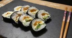 Tempura sushi #vegan #sushi