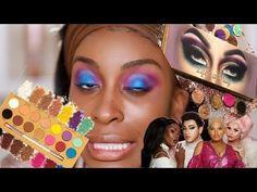 Jackie Aina, Beauty Review, Eyeshadow Palette, Makeup Looks, Halloween Face Makeup, Skin Care, Youtube, Life, Make Up Looks