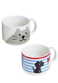Cute mug set